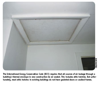 Home Energy Magazine Roof Amp Attic Sealing Attic Hatches