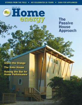 Home Energy Magazine Cover - Our Mission