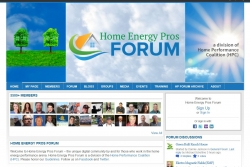 Home Performance Coalition (HPC) Announces the Launch of Home Energy Pros Forum