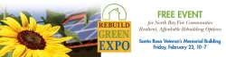 Rebuild Green Expo, Santa Rosa: Advice Freely Offered, and well taken