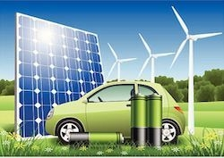Using Residential Solar Panels to Power Electric Cars