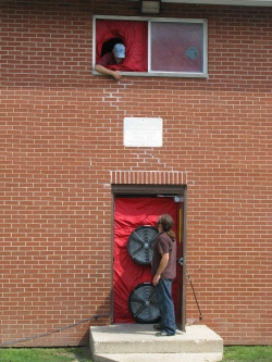 Behind the Story: Blower Door Testing in Multifamily Buildings