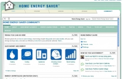 Home Energy Saver Launches Online Forum for Homeowners