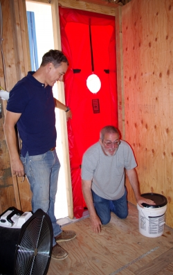 Adventures in Blower Door Testing
