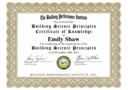 BPI's Building Science Principles Certificate: Why I Did It and Why You Should Too